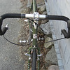 the new Surly LHT- all assembled and ready for the first test ride. apr 17, 2009