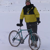 Merry Christmas, icebiking on Christmas morning, 22 F, 2in fresh snow 10am Pict8213
