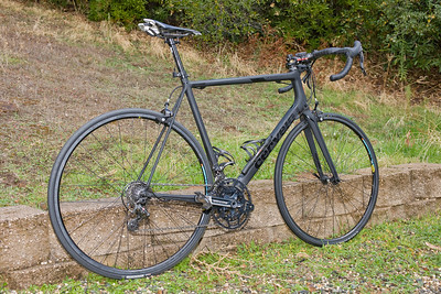 "Cervelo R5ca (ca= California edition).  This is the handmade, limited frame  manufactured by the Cervelo engineers, themselves.  2011 Campy 11. Rotor ""Sastre"" rings - special elliptical set where the inner ring has the exact same elliptical shape as the outer ring (this is not standard).   Rear hub is PowerTap."