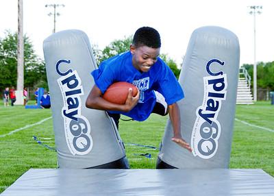 Big Blue Football Camp for kids