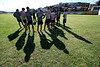 Members of the S.E.R Caxias do Sul team train in Caxias do Sul, in Brazil's southern Rio Grande do Sul state, April 27, 2006. Luiz Felipe Scolari played at the team in the 1970s. The Portuguese national coach, who led Brazil to the 2002 World Cup title, has accepted the job as Chelsea's coach. (Australfoto/Douglas Engle)
