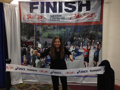 Big Sur Marathon on Monterey Bay 2012