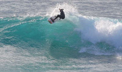 A number of the surfers on Sunday were very skilled and treated all of us with tight cutbacks and carves.