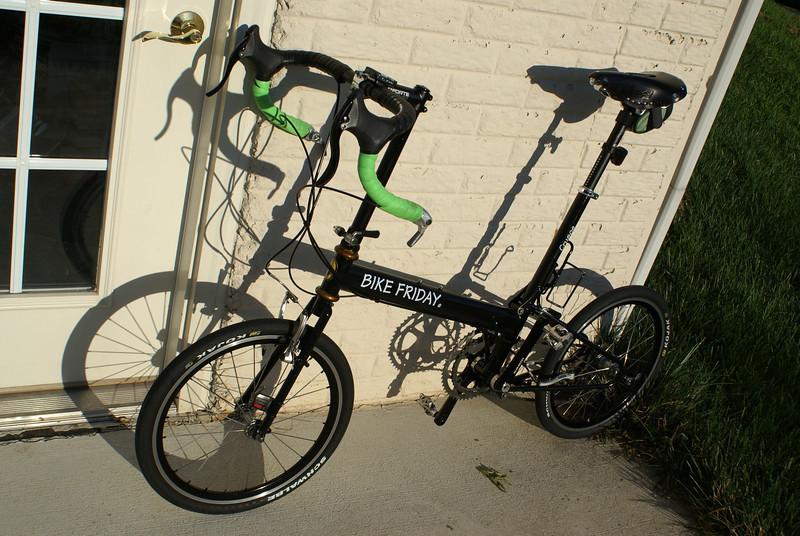 Bike Friday Crusoe with Brooks saddle.