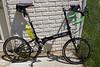 Bike Friday Crusoe sport bike configuration; 20.9lb kerb weight.