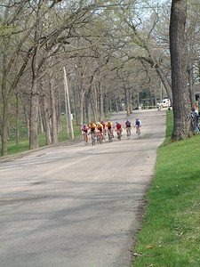 Masters 40-49 Field, Eagle Point Criterium, Dubuge. IA