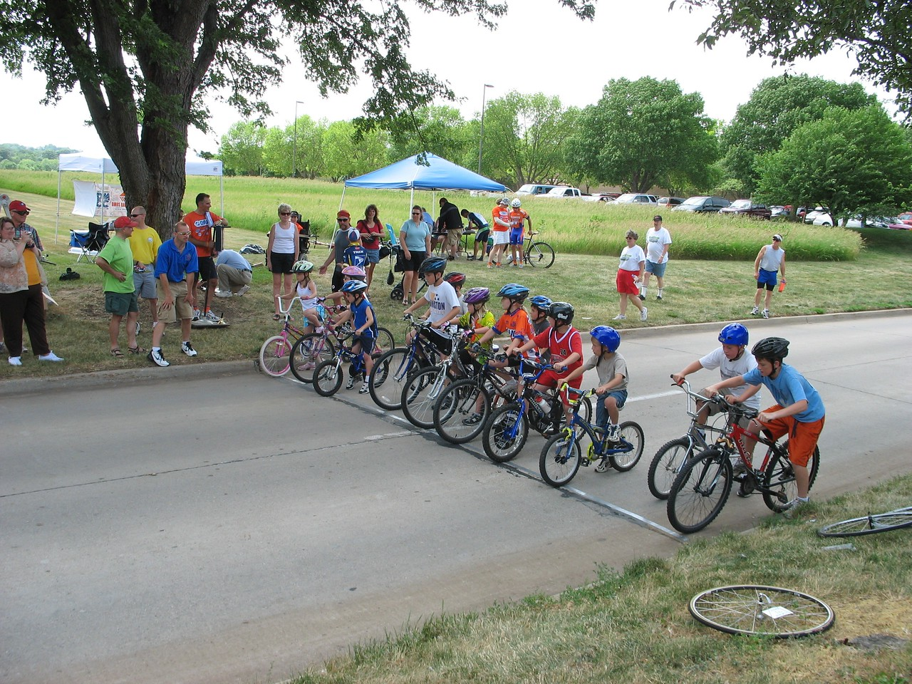 Chelsea in the Kid's Race - photo by  DMCC