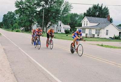 Scott Wall, Dave Hammer, Randy Catron, & Richard Sherrod finishing