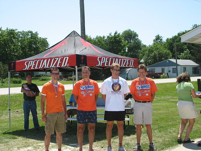 Senior Men 3rd place - Rich Wince, Dave Hammer, Brian Clark, Scott Wall - DMOS photo