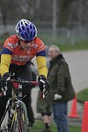 Scott Wall passing the start/finish in Des Moines, IA. - photoby DMCC?