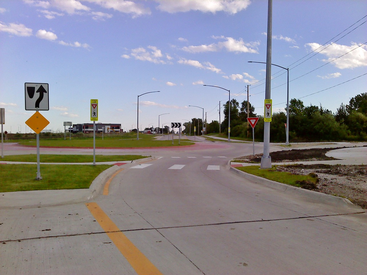 University Boulevard middle roundabout