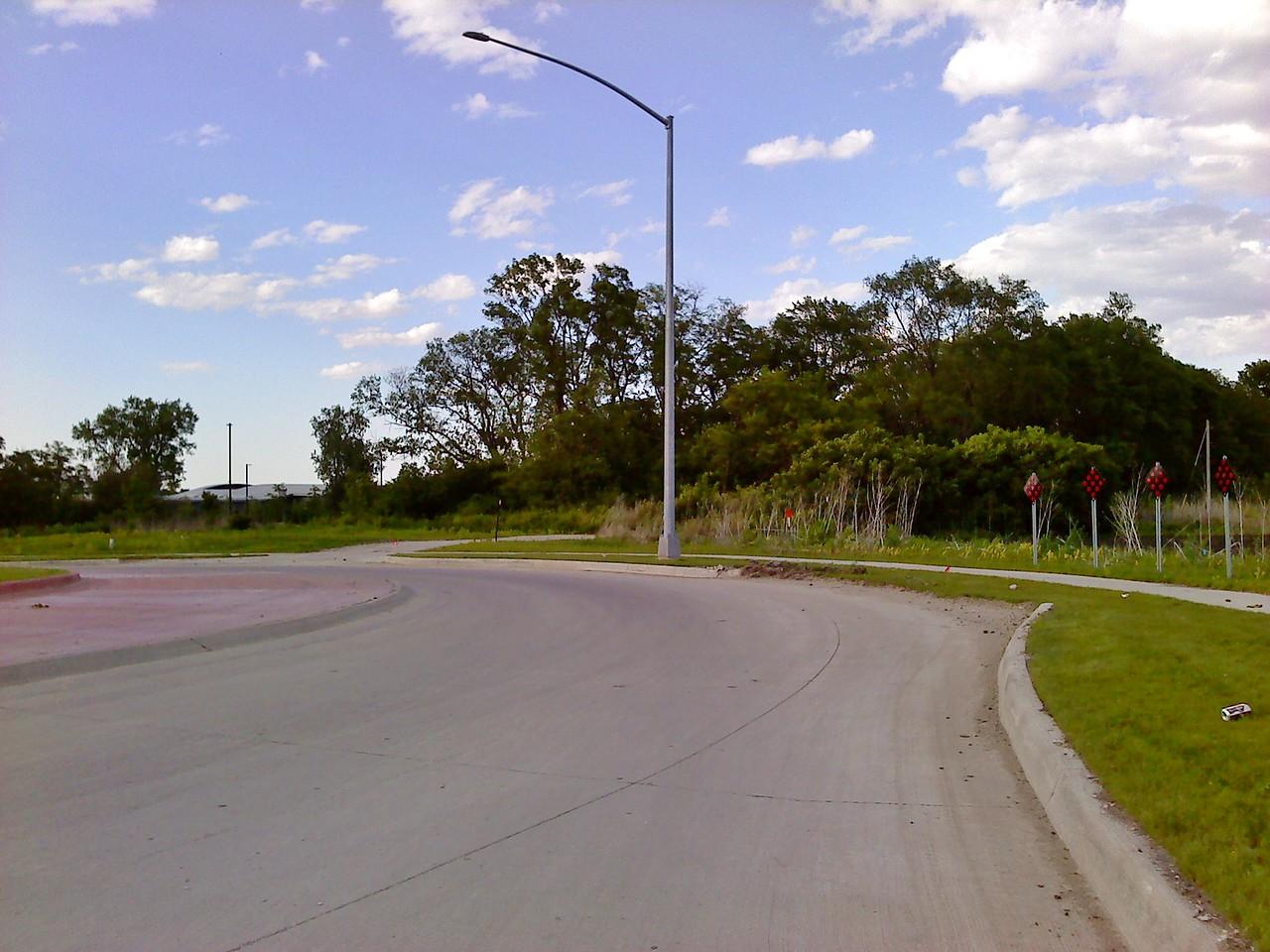 University Boulevard middle roundabout