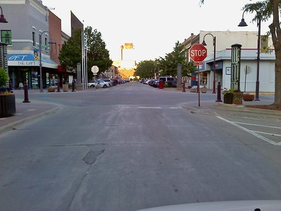 Main Street & Kellogg Avenue