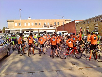 Ames Velo/Sakari Race Team Group Ride