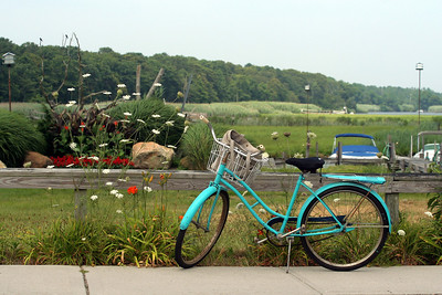 A bike ride down South Road and back along Montauk Highway in Westhampton Beach, NY.