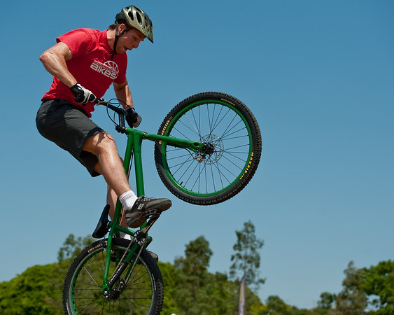 "Lewis Greenhalgh - expressivebikes.com bike trials demo team - Active Outdoors Expo - Queensland Outdoor Recreation Federation, Manly, Brisbane, Queensland, Australia; Saturday 1 October 2011. Photos by Des Thureson:  <a href=""http://disci.smugmug.com"">http://disci.smugmug.com</a>"