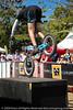 Borys Zagrocki - Expressivebikes.com Bike Trials  demonstration at the Noosa Triathlon Multi Sport Festival, 31 October 2009.