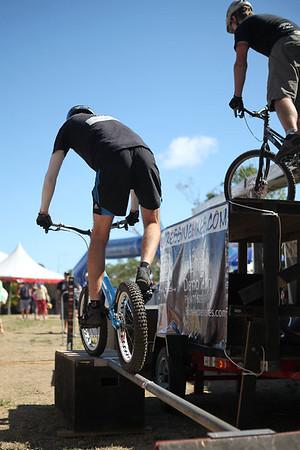 Bike Trials at the 2009 Noosa Triathlon Multi Sport Festival. Photos by Des Thureson.