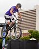 """Janine Jungfels (""""J9"""") - ExpessiveBikes at Cycling Brisbane Launch, King George Square, Brisbane City, Queensland, AUS; Wednesday 26 March 2014. Photos by Des Thureson - <a href=""""http://disci.smugmug.com"""">http://disci.smugmug.com</a>."""