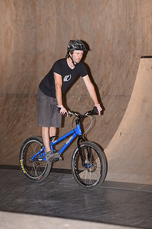 "ExpressiveBikes - Inspired Bike Trials Expression Session 2013; Ride On Indoor Park, Coopers Plains, Brisbane, Queensland, Australia; 31 August 2013. Camera 1, Photos by Des Thureson - <a href=""http://disci.smugmug.com"">http://disci.smugmug.com</a>."