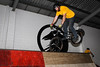 "Allan Phillipson - ExpressiveBikes - Inspired Bike Trials Expression Session 2014; Ride On Indoor Park, Coopers Plains, Brisbane, Queensland, Australia; 30 August 2014. Camera 2, Photos by Des Thureson - <a href=""http://disci.smugmug.com"">http://disci.smugmug.com</a>."