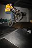 """Allan Phillipson - ExpressiveBikes - Inspired Bike Trials Expression Session 2014; Ride On Indoor Park, Coopers Plains, Brisbane, Queensland, Australia; 30 August 2014. Camera 2, Photos by Des Thureson - <a href=""""http://disci.smugmug.com"""">http://disci.smugmug.com</a>."""