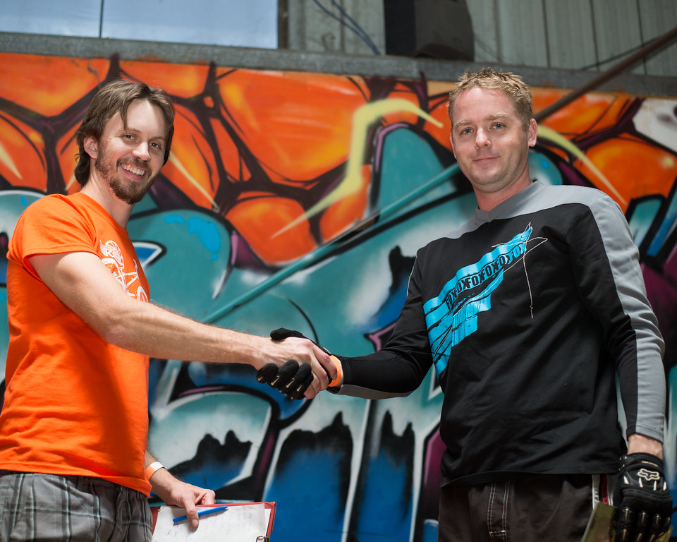 "Ben Croft - Prizes / Presentations - Tim Mullaly, ExpressiveBikes - Inspired Trials Expression Weekend 2012; Geebung, Brisbane, Queensland, Australia; 01 September 2012. Camera 1, Photos by Des Thureson - <a href=""http://disci.smugmug.com"">http://disci.smugmug.com</a>."
