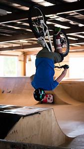 Paul - ExpressiveBikes - Inspired Trials Expression Weekend 2012; Geebung, Brisbane, Queensland, Australia; 01 September 2012. Camera 1, Photos by Des Thureson - http://disci.smugmug.com.  - Aerial.