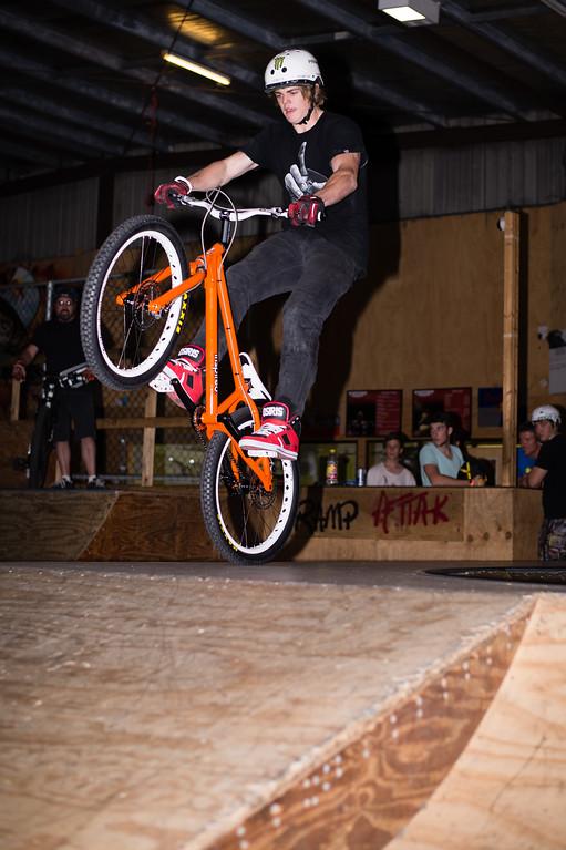 """Brandon Vannee - ExpressiveBikes - Inspired Trials Expression Weekend 2012; Geebung, Brisbane, Queensland, Australia; 01 September 2012. Camera 1, Photos by Des Thureson - <a href=""""http://disci.smugmug.com"""">http://disci.smugmug.com</a>."""