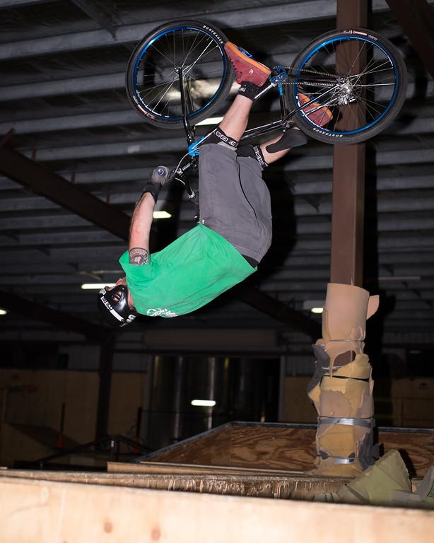 """Allan Phillipson - ExpressiveBikes - Inspired Trials Expression Weekend 2012; Geebung, Brisbane, Queensland, Australia; 01 September 2012. Camera 1, Photos by Des Thureson - <a href=""""http://disci.smugmug.com"""">http://disci.smugmug.com</a>.  - Aerial."""