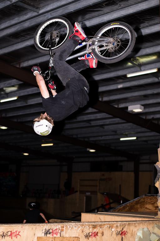 """Brandon Vannee - ExpressiveBikes - Inspired Trials Expression Weekend 2012; Geebung, Brisbane, Queensland, Australia; 01 September 2012. Camera 1, Photos by Des Thureson - <a href=""""http://disci.smugmug.com"""">http://disci.smugmug.com</a>.  - Aerial."""