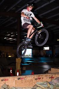 Kyle Rolands - ExpressiveBikes - Inspired Trials Expression Weekend 2012; Geebung, Brisbane, Queensland, Australia; 01 September 2012. Camera 1, Photos by Des Thureson - http://disci.smugmug.com.  - Aerial.