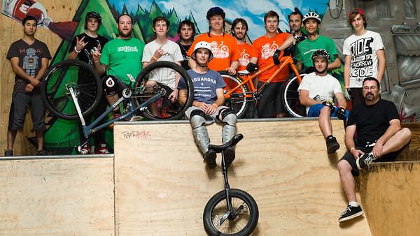The ExpressiveBikes.com / Inspired Team! - ExpressiveBikes - Inspired Trials Expression Weekend 2012; Geebung, Brisbane, Queensland, Australia; 01 September 2012. Camera 1, Photos by Des Thureson - http://disci.smugmug.com.