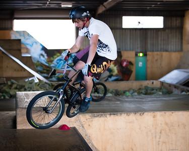 Kyle Rolands - ExpressiveBikes - Inspired Trials Expression Weekend 2012; Geebung, Brisbane, Queensland, Australia; 01 September 2012. Camera 1, Photos by Des Thureson - http://disci.smugmug.com.