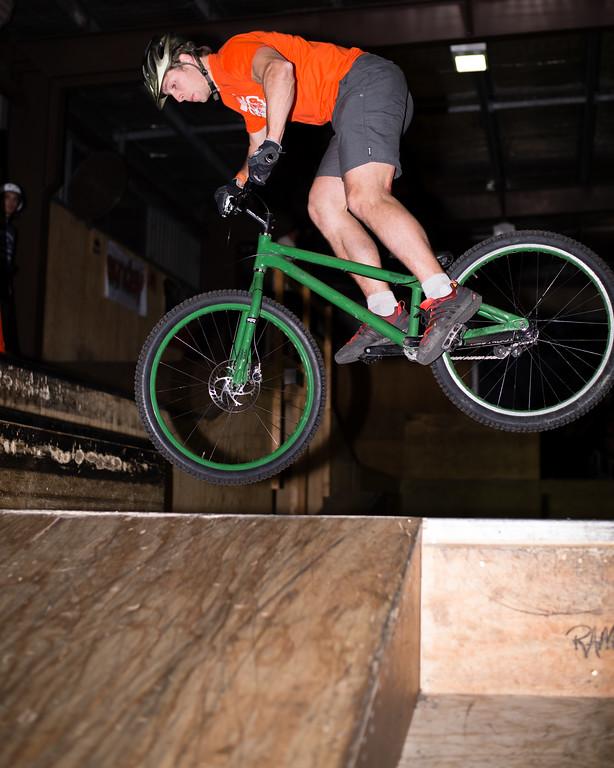 """Lewis Greenhalgh - ExpressiveBikes - Inspired Trials Expression Weekend 2012; Geebung, Brisbane, Queensland, Australia; 01 September 2012. Camera 1, Photos by Des Thureson - <a href=""""http://disci.smugmug.com"""">http://disci.smugmug.com</a>.  - Aerial."""