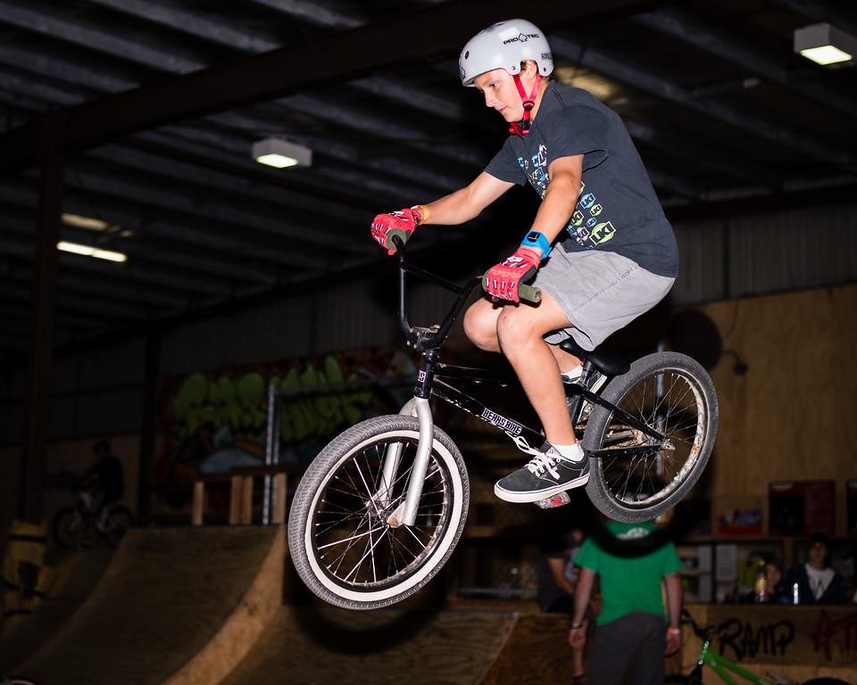 """Lewis Menzani - ExpressiveBikes - Inspired Trials Expression Weekend 2012; Geebung, Brisbane, Queensland, Australia; 01 September 2012. Camera 1, Photos by Des Thureson - <a href=""""http://disci.smugmug.com"""">http://disci.smugmug.com</a>.  - Aerial."""