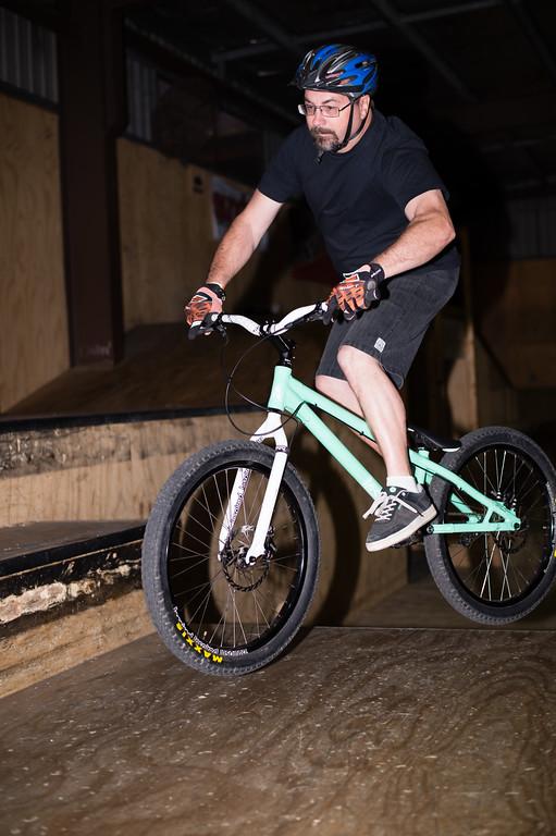 """Don Rolands - ExpressiveBikes - Inspired Trials Expression Weekend 2012; Geebung, Brisbane, Queensland, Australia; 01 September 2012. Camera 1, Photos by Des Thureson - <a href=""""http://disci.smugmug.com"""">http://disci.smugmug.com</a>."""