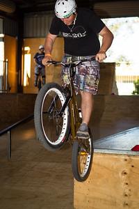 Anthony Graham - ExpressiveBikes - Inspired Trials Expression Weekend 2012; Geebung, Brisbane, Queensland, Australia; 01 September 2012. Camera 2, Photos by Des Thureson - http://disci.smugmug.com.