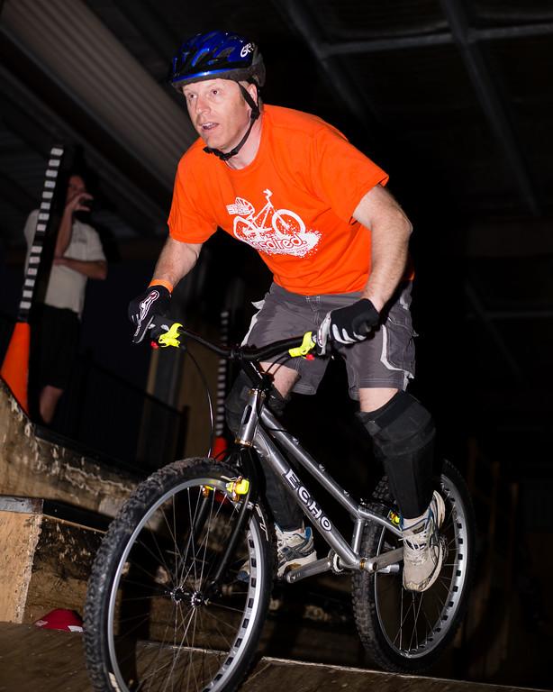 """Tony Leyland - ExpressiveBikes - Inspired Trials Expression Weekend 2012; Geebung, Brisbane, Queensland, Australia; 01 September 2012. Camera 1, Photos by Des Thureson - <a href=""""http://disci.smugmug.com"""">http://disci.smugmug.com</a>."""