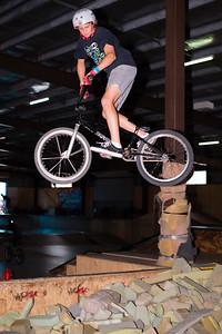 Lewis Menzani - ExpressiveBikes - Inspired Trials Expression Weekend 2012; Geebung, Brisbane, Queensland, Australia; 01 September 2012. Camera 1, Photos by Des Thureson - http://disci.smugmug.com.  - Aerial.
