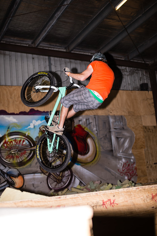 """Tim Mullaly - ExpressiveBikes - Inspired Trials Expression Weekend 2012; Geebung, Brisbane, Queensland, Australia; 01 September 2012. Camera 1, Photos by Des Thureson - <a href=""""http://disci.smugmug.com"""">http://disci.smugmug.com</a>.  - Unedited Image. - The images in this gallery have not been edited / cropped. If you order a print, these images will be edited / corrected / cropped before being printed. (If you wish to purchase a download, you can either:  1. Purchase the image 'as is', or 2. Email me and ask me to edit the image prior to your purchase.) Des."""