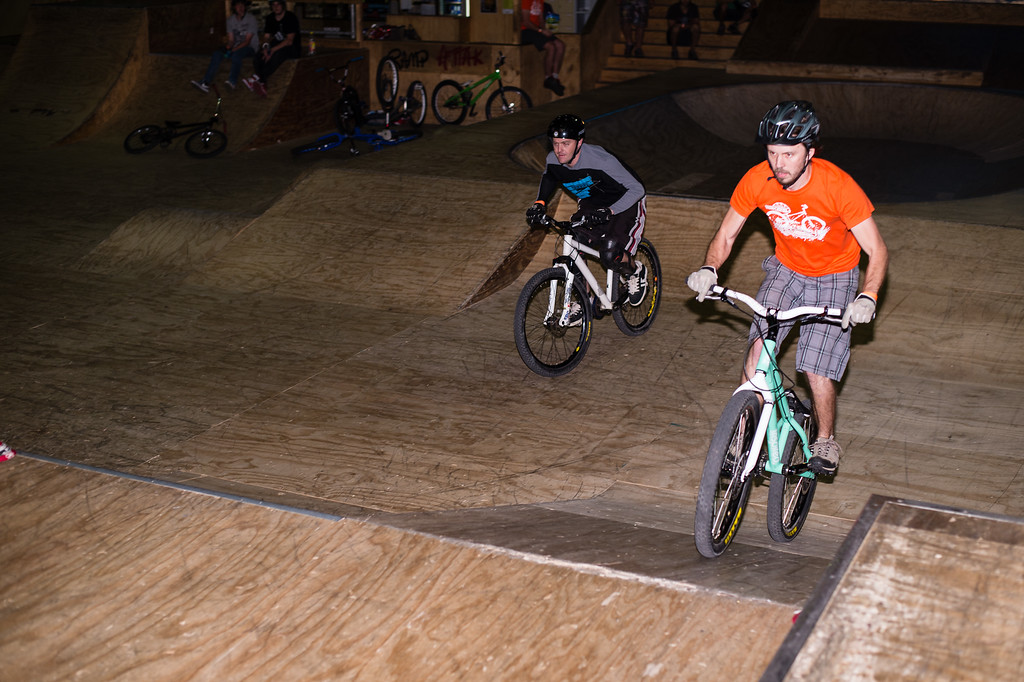 "Tim Mullaly, Ben Croft - ExpressiveBikes - Inspired Trials Expression Weekend 2012; Geebung, Brisbane, Queensland, Australia; 01 September 2012. Camera 1, Photos by Des Thureson - <a href=""http://disci.smugmug.com"">http://disci.smugmug.com</a>.  - Unedited Image."