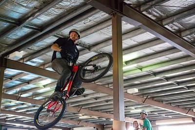 Adrian Turmine - ExpressiveBikes - Inspired Trials Expression Weekend 2012; Geebung, Brisbane, Queensland, Australia; 01 September 2012. Camera 2, Photos by Des Thureson - http://disci.smugmug.com.