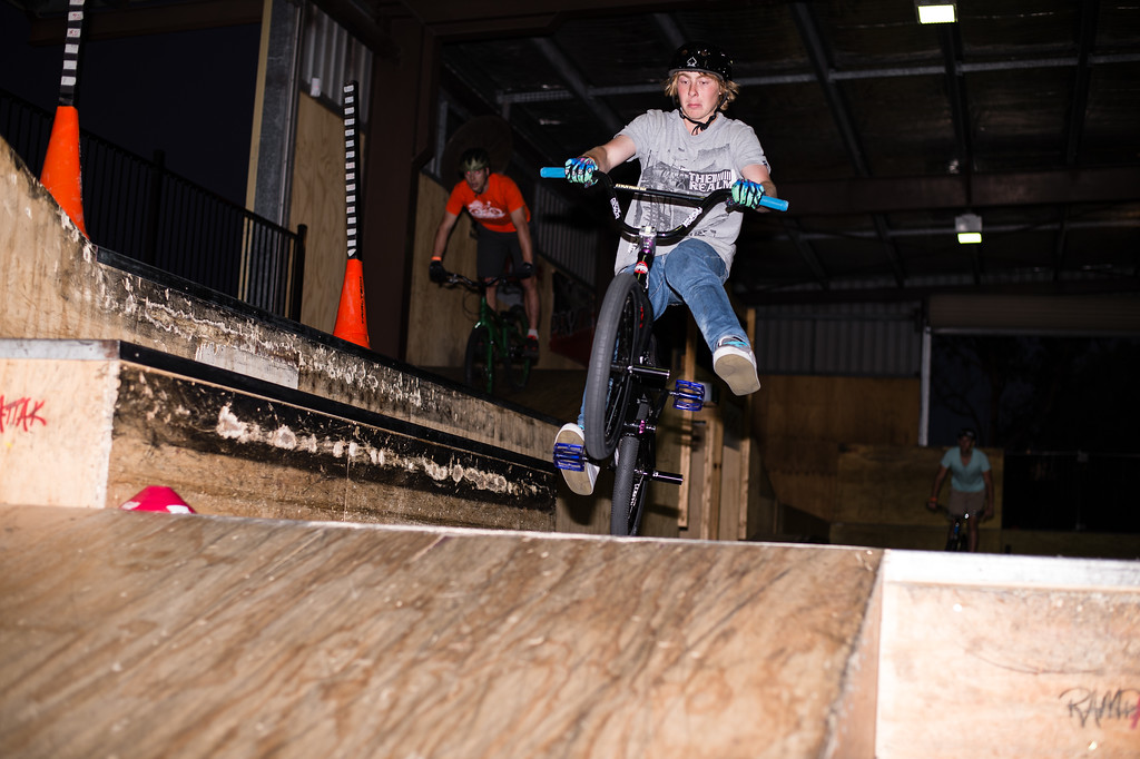 """ExpressiveBikes - Inspired Trials Expression Weekend 2012; Geebung, Brisbane, Queensland, Australia; 01 September 2012. Camera 1, Photos by Des Thureson - <a href=""""http://disci.smugmug.com"""">http://disci.smugmug.com</a>.  - Unedited Image. - The images in this gallery have not been edited / cropped. If you order a print, these images will be edited / corrected / cropped before being printed. (If you wish to purchase a download, you can either:  1. Purchase the image 'as is', or 2. Email me and ask me to edit the image prior to your purchase.) Des.  - Andrew Clark."""