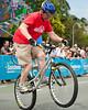 Tony Leyland - ExpressiveBikes Bike Trials Demo Team - Super Saturday at the Noosa Triathlon Multi Sport Festival, Noosa Heads, Sunshine Coast, Queensland, Australia; 29 October 2011.