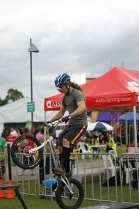 "Expressivebikes.com Bike Trials Demo Team at the Logan Eco Action Festival (""LEAF""), Griffith University, Logan Campus, Meadowbrook, Logan City, Queensland, Australia. Camera 2. Photos by Des Thureson - http://disci.smugmug.com."