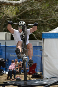 Lewis Greenhalgh - 2012 Expressivebikes.com Bike Trials Demo Team at the Noosa Triathlon Multi Sport Festival, Noosa Heads, Sunshine Coast, Queensland, Australia. Camera 1. Photos by Des Thureson. - The images in this gallery have not been edited / cropped. If you purchase* a print or download, these images will be edited / corrected / cropped before being sent out. *Ordering will be via disci.photoshelter.com or via email. Thanks, Des.