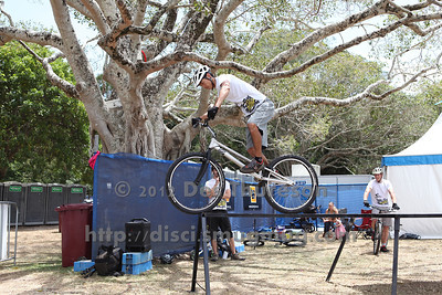 2012 Expressivebikes.com Bike Trials Demo Team at the Noosa Triathlon Multi Sport Festival, Noosa Heads, Sunshine Coast, Queensland, Australia. Camera 2. Photos by Des Thureson. - The images in this gallery have not been edited / cropped. If you purchase* a print or download, these images will be edited / corrected / cropped before being sent out. *Ordering will be via disci.photoshelter.com or via email. Thanks, Des.
