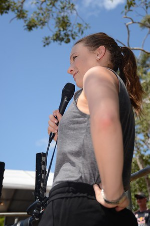 "April - ExpressiveBikes Bike Trials Stunt Team - 2013 Super Saturday at the Noosa Triathlon Multi Sport Festival, Noosa Heads, Sunshine Coast, Queensland, Australia. Camera 1. Photos by Des Thureson - <a href=""http://disci.smugmug.com"">http://disci.smugmug.com</a>"