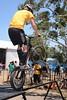 "ExpressiveBikes Bike Trials Stunt Team - 2013 Super Saturday at the Noosa Triathlon Multi Sport Festival, Noosa Heads, Sunshine Coast, Queensland, Australia. Camera 1. Photos by Des Thureson - <a href=""http://disci.smugmug.com"">http://disci.smugmug.com</a>"